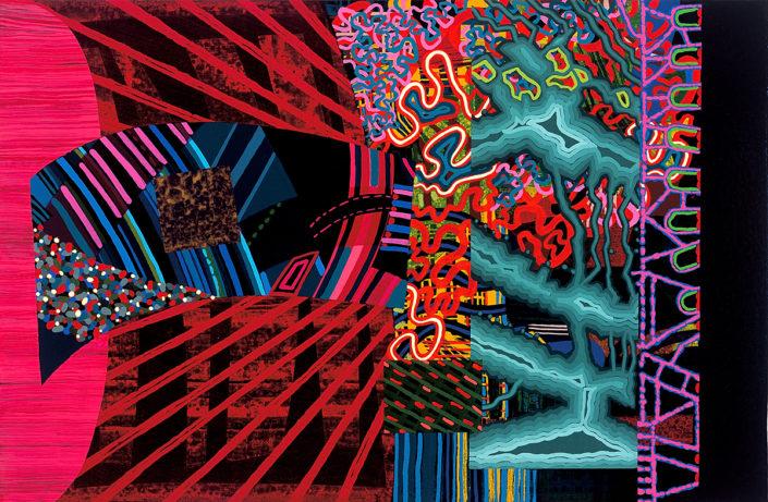 Solo es un deseo-2006 acrílico s-tela 27x41 cm.