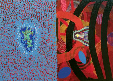 Un impertinente solitario-2002 óleo s-tela 27x41 cm.